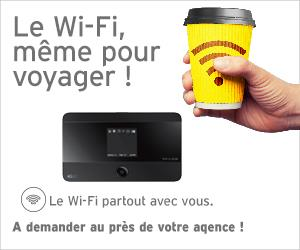 Wifi pour voyager - location voiture Maroc